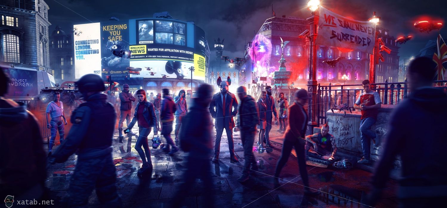 Фото Watch Dogs Legion от R.G. МЕХАНИКИ
