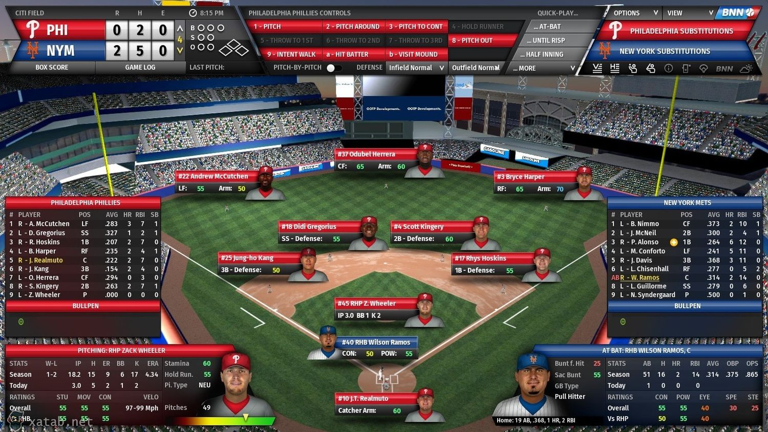 Скрин Out of the Park Baseball 21 от R.G. МЕХАНИКИ