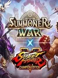 скрин Summoners War x Street Fighter 5