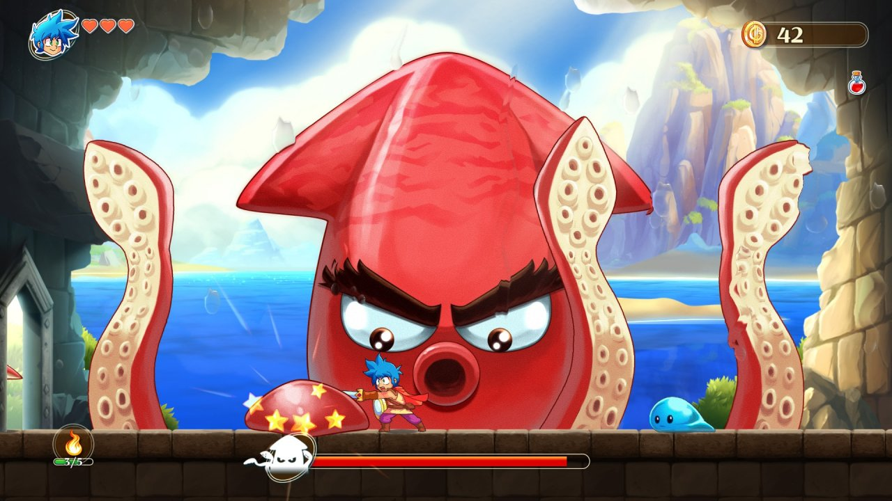 Скрин Wonder Boy Asha in Monster World от R.G. МЕХАНИКИ