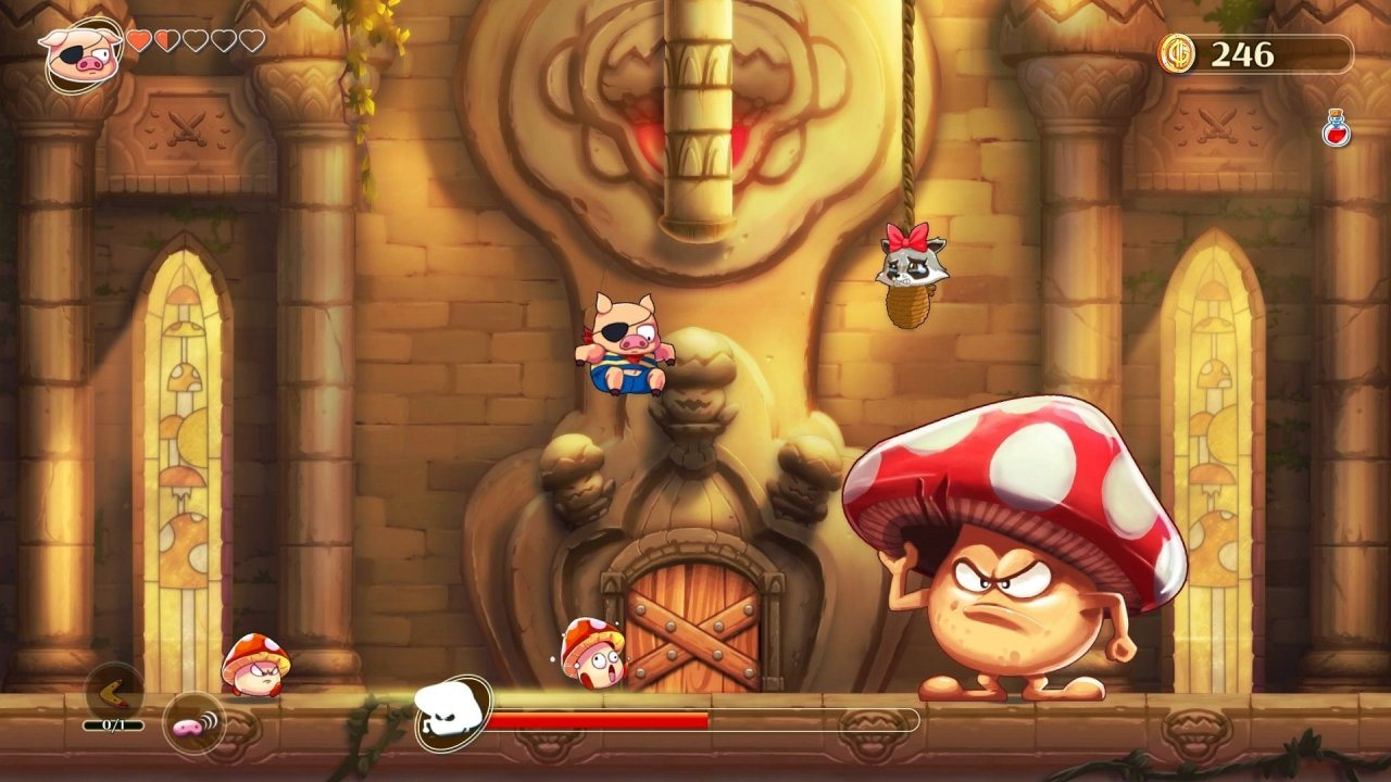 Скриншон Wonder Boy Asha in Monster World от R.G. МЕХАНИКИ